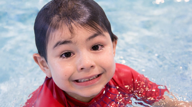 Helping your child develop water confidence