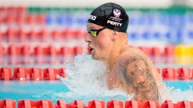 Adam Peaty on form for 100m Breaststroke gold