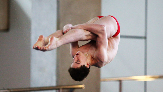 Anthony Harding claims third straight 3m title