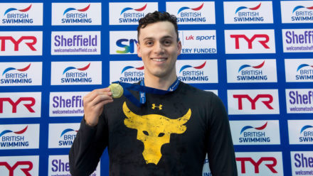 James Guy lands third British gold in 100m Fly