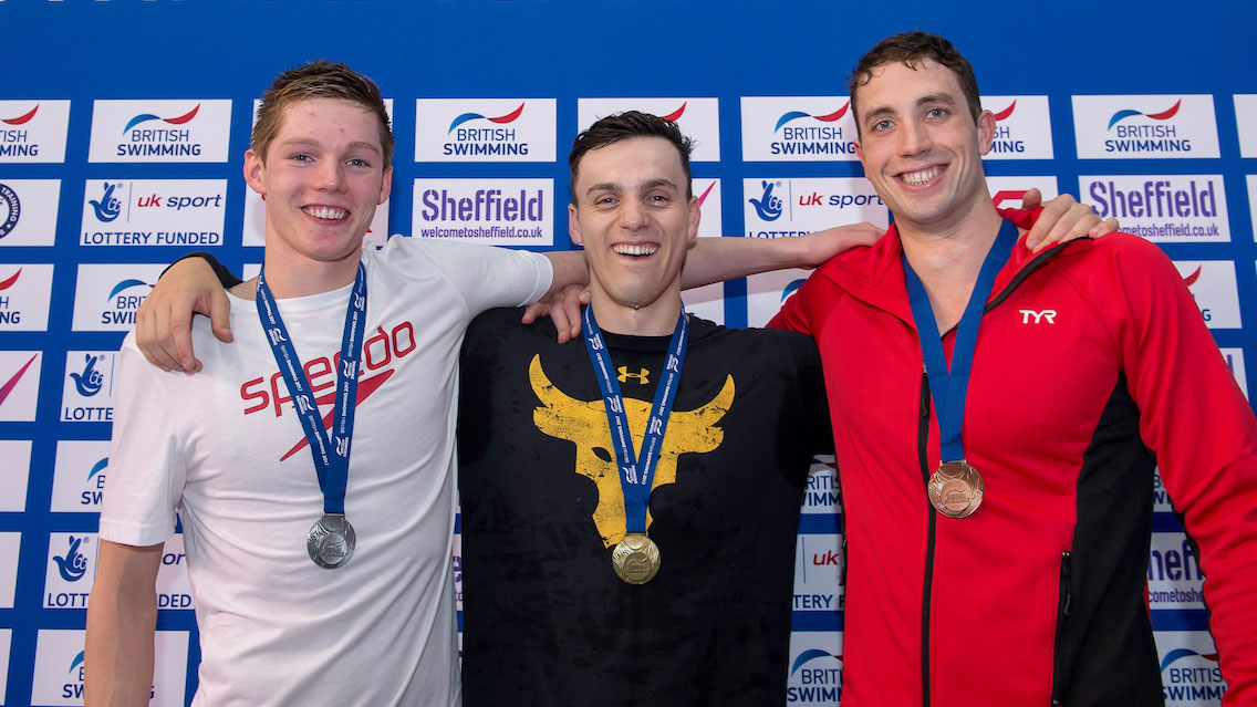 James Guy closes 2017 British Champs with fourth gold