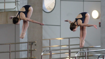 Mew Jensen and Papworth cruise to 3m Synchro title in Plymouth