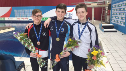 Matthew Dixon lifts Group A Platform title at Junior Elites