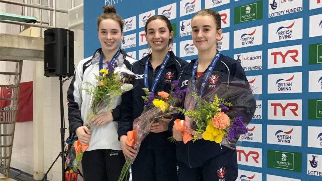 Scarlett Mew Jensen wins 3m Springboard gold in Plymouth