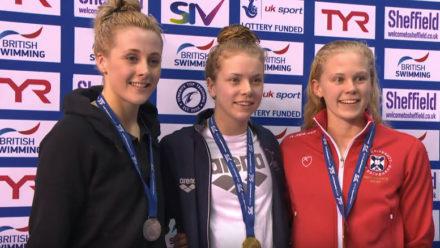Anna Hopkin takes 50m Freestyle title on day three