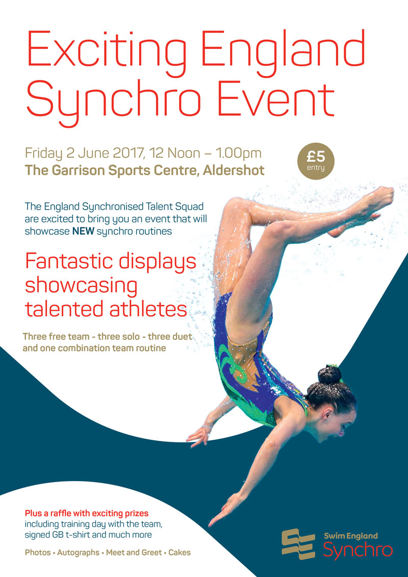 England Programmes Synchro Talent Display