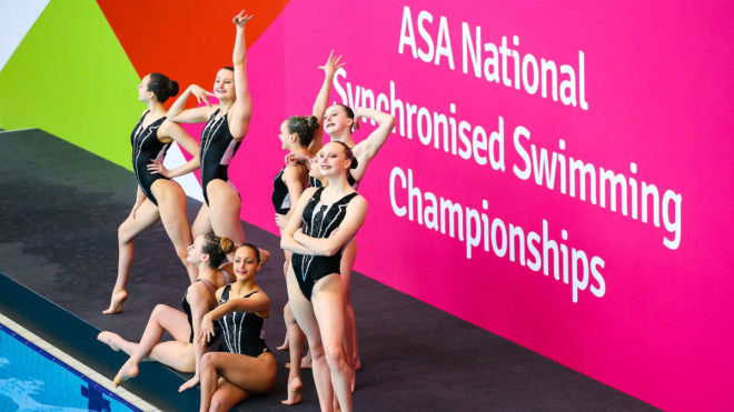 Swim England Synchro Talent squad to perform new routines in display event