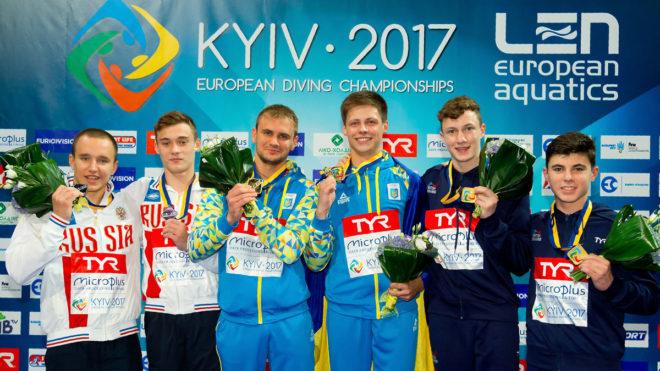 Williams and Dixon win European 10m Synchro bronze