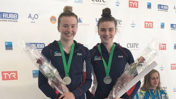 Bower and Banks win European Junior silver in Norway