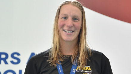 Sophie Casson breaks world record in opening session of British Masters