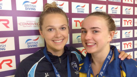 Toulson takes two at British Diving Champs