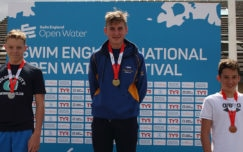 Binning takes gold in boys' 14yrs 1.5k