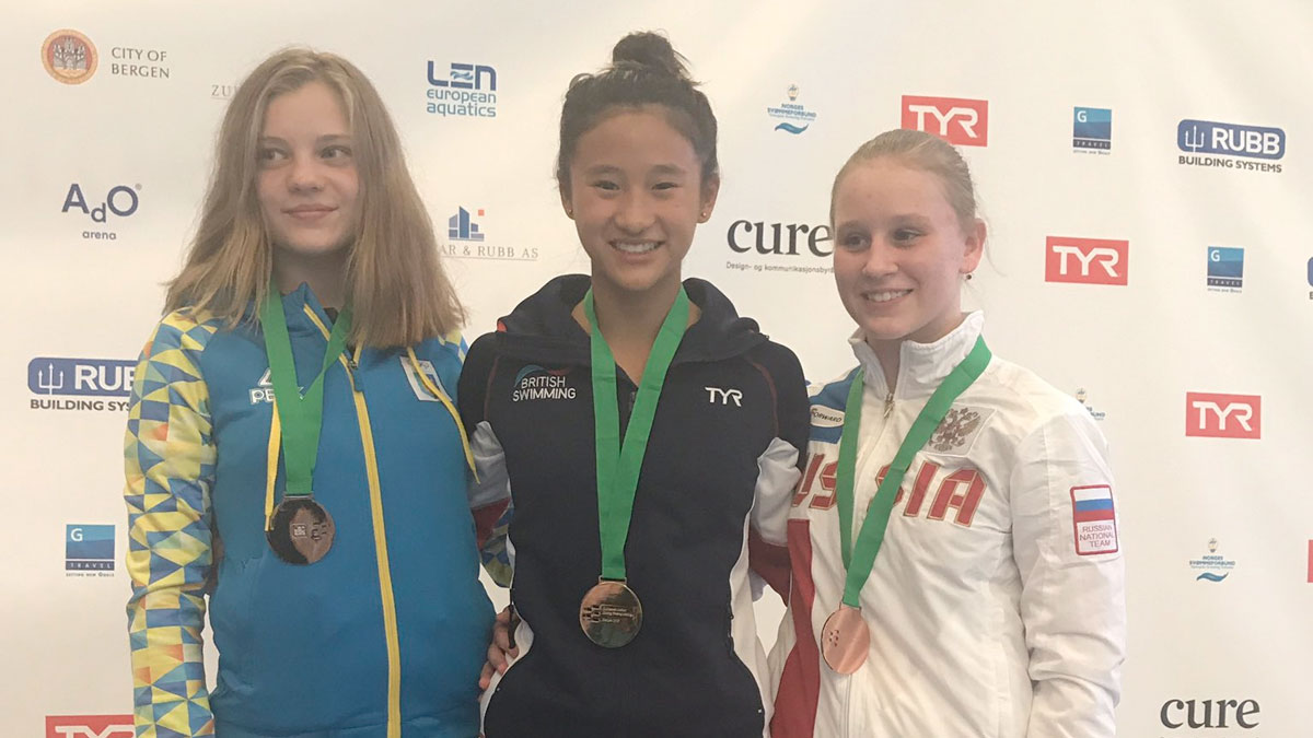 Eden Cheng wins European Junior gold in Bergen