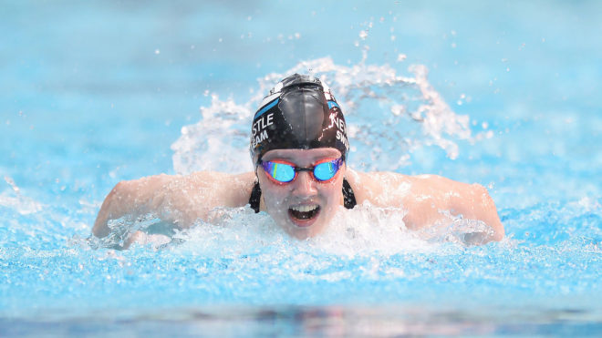 Emily Large completes Summer Champs hat-trick
