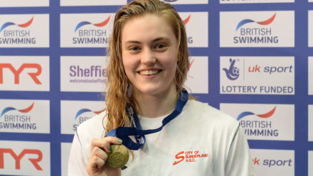 Freya Rayner stars with 50m Freestyle gold at Ponds Forge