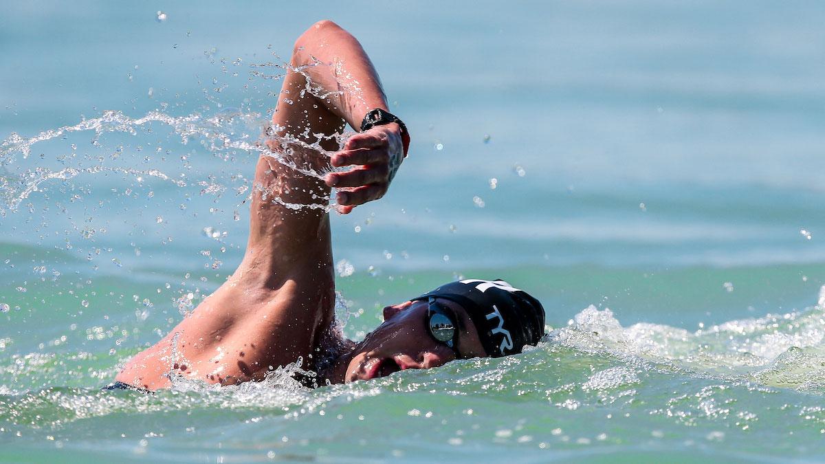 Jack Burnell narrowly misses world medal in thrilling 10km