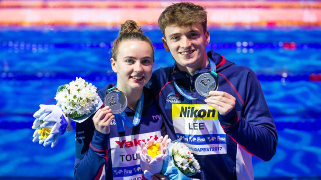 Lee and Toulson land first British medal with Mixed Platform silver