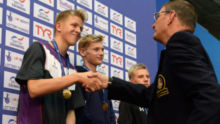 Toby Robinson smashes PB to clinch 1500m Freestyle gold