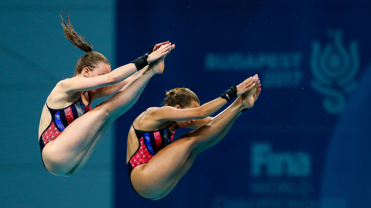 Toulson and Couch finish seventh in 10m Synchro