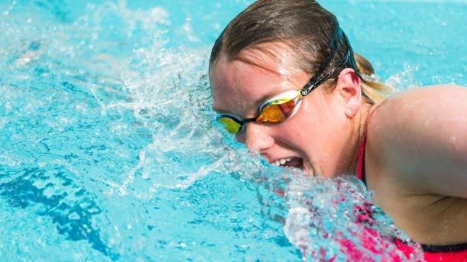 Swimming Fitness Pool Training Session 16