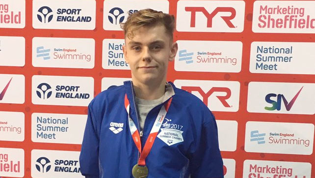 Aaron Maddox clinches MC 100m Free gold in Sheffield