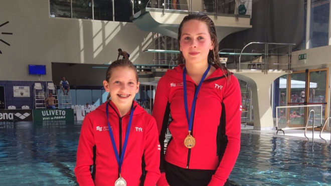 Connolly and Cutmore continue medal charge in Italy