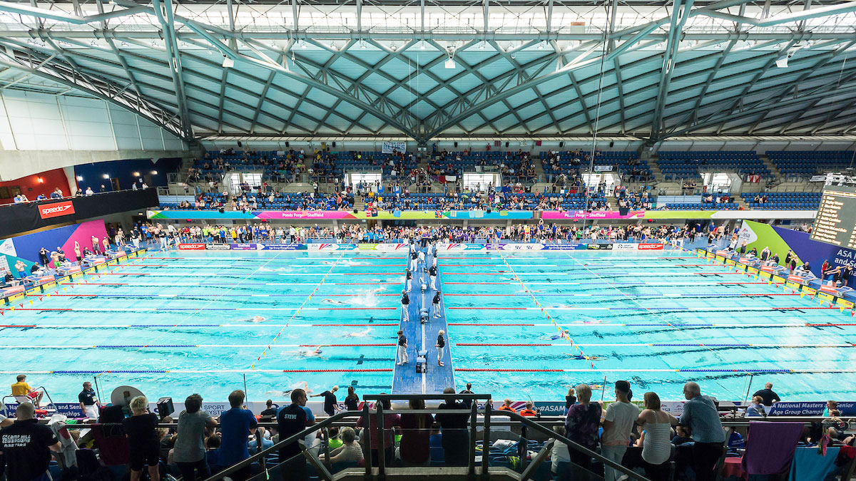25m pools at the ASA National Masters Champs 2016