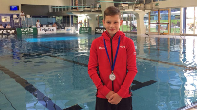 Cutmore and Connolly win silvers at Mediterranean Cup