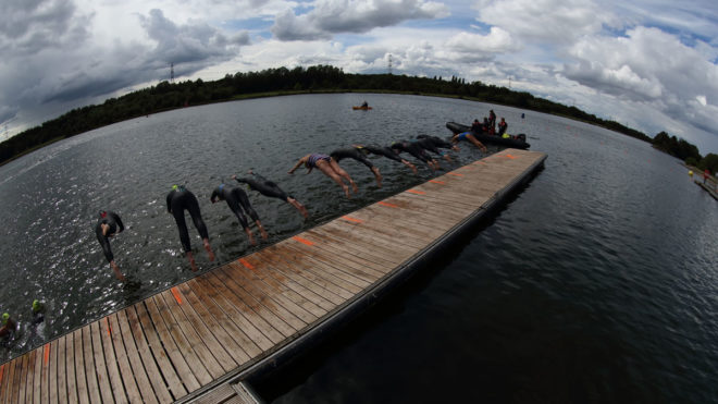 What are the differences between coaching pool and open water swimming?
