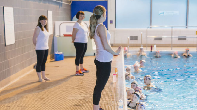 Six stages of volunteering as a synchro coach