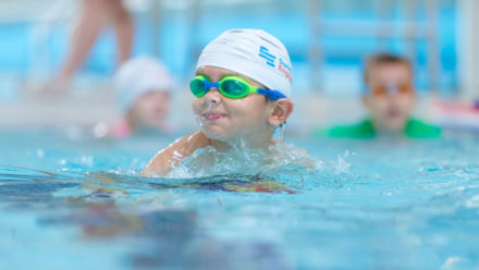When should my child stop swimming lessons?