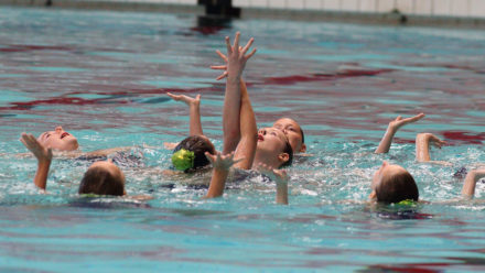 Hundreds of synchro swimmers set to compete for 2018 Combo Cup