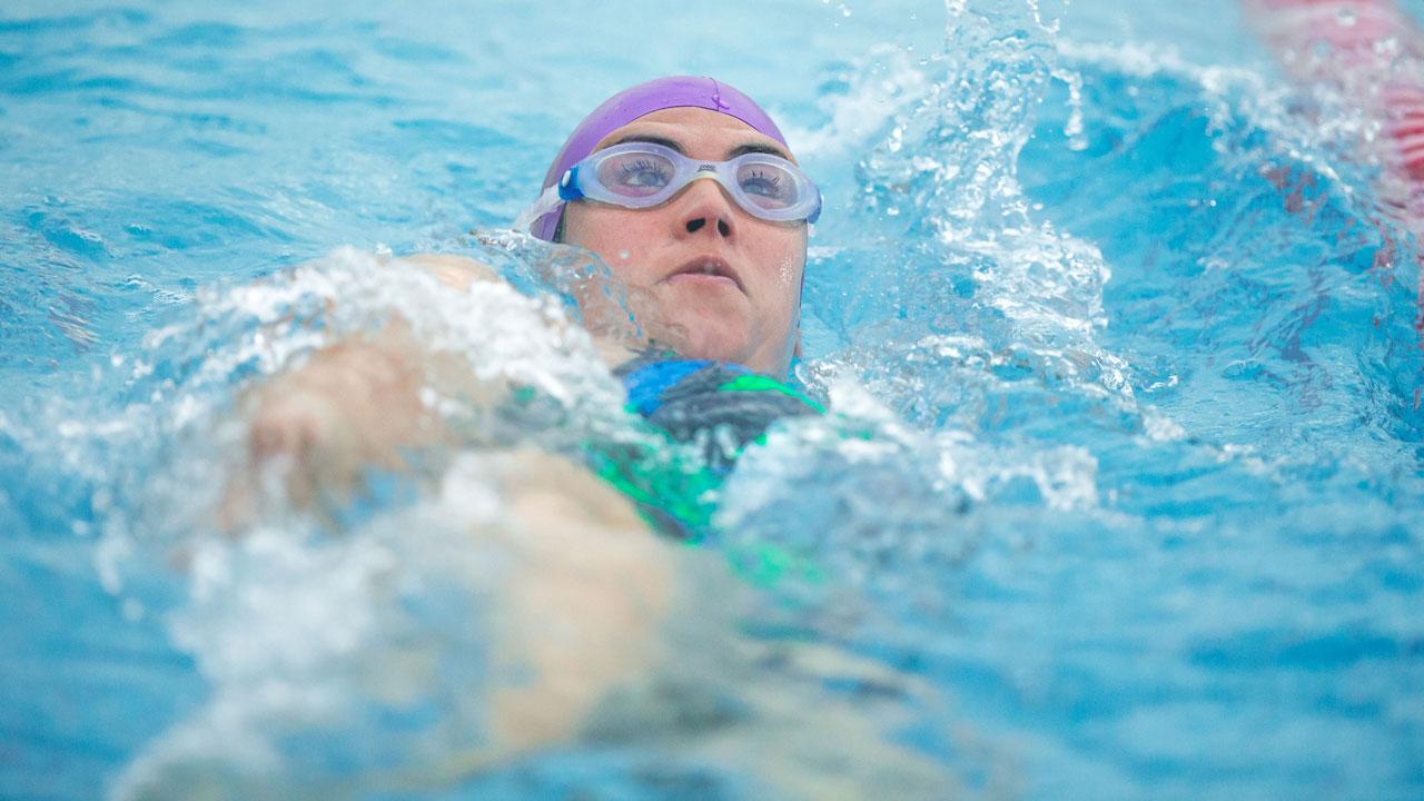 Swimming Fitness Pool Training Session 19