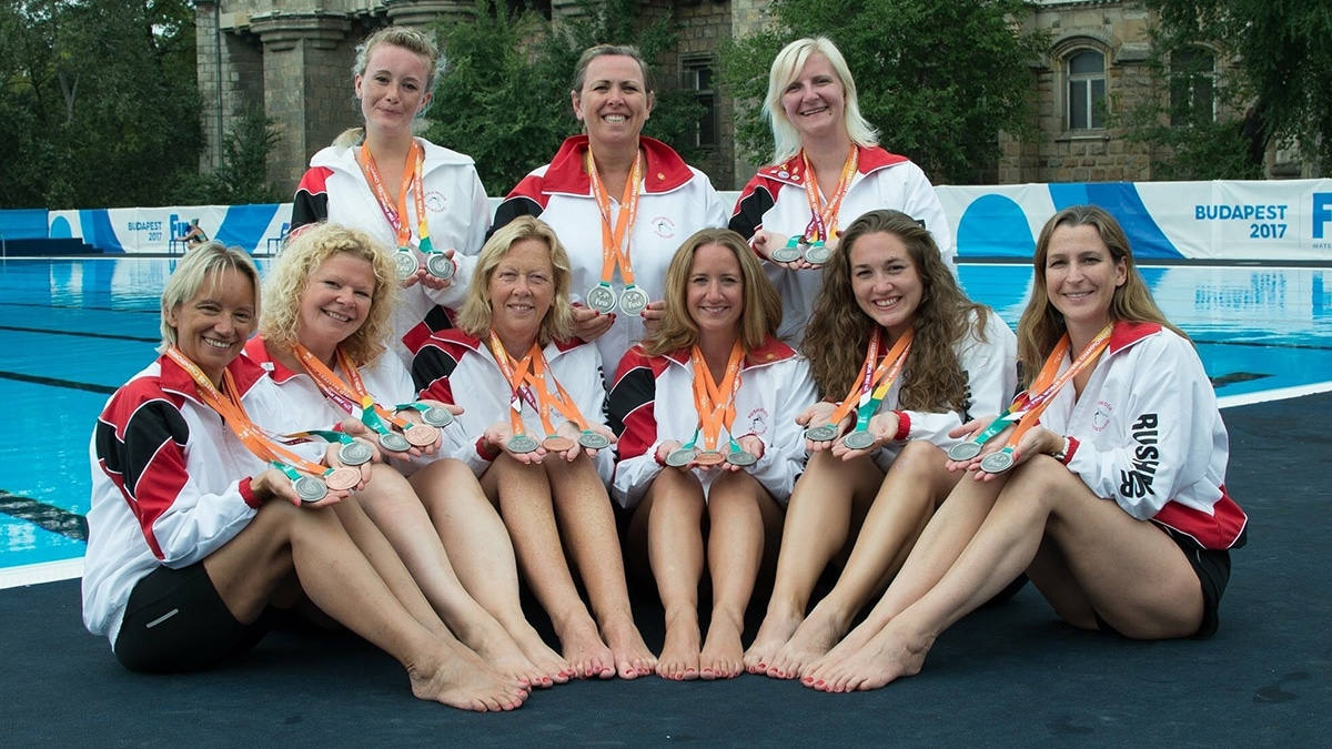 Rushmoor synchro win medal haul at World Masters 2017