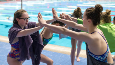 Land Warm Up For Swimmers