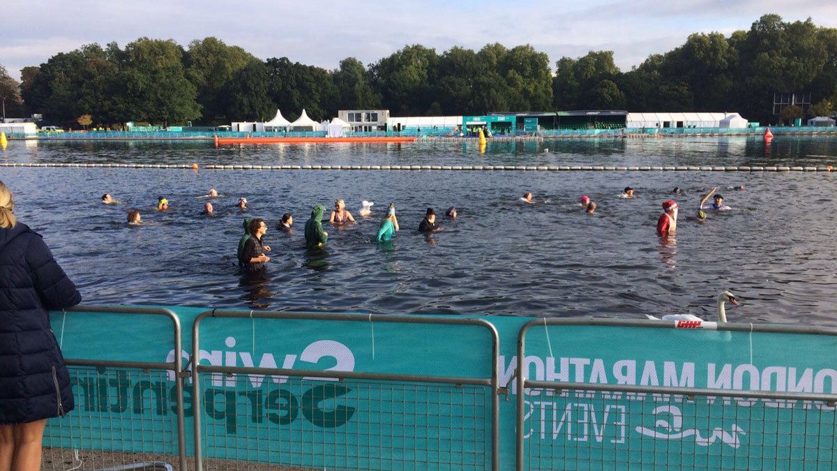 Water polo at the Serpentine 2017