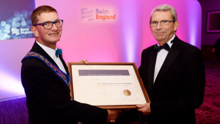 Ian Mackenzie presented with the Harold Fern Award 2017
