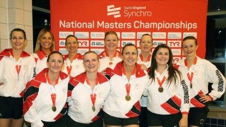 Rushmoor dominate Synchro National Masters Champs