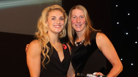 Sophie Casson wins Performance Athlete Award for Masters