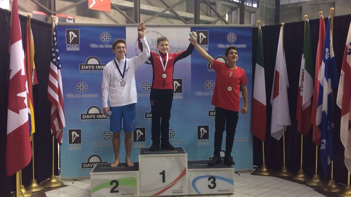 Ben Cutmore storms to Platform gold in Montreal