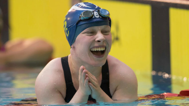 Ellie Robinson powers to 50m Free world record