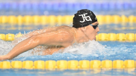 Guy powers to 200m Butterfly gold on day three