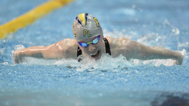 Laura Stephens wins 200m Butterfly with lifetime best swim