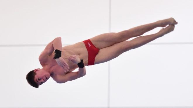 Matthew Dixon steps up for British 10m Platform title