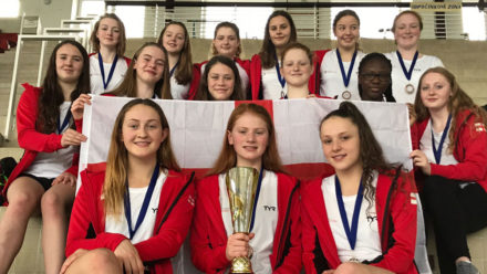Swim England Water Polo Girls' U17 Squad