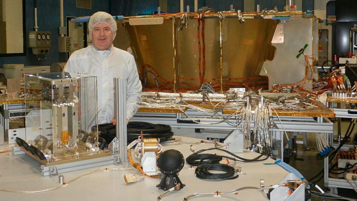 Jim Boucher rocket scientist