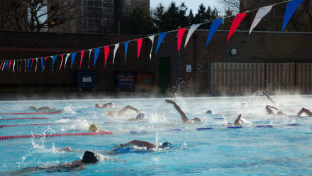 Community Spirit at Charlton Lido