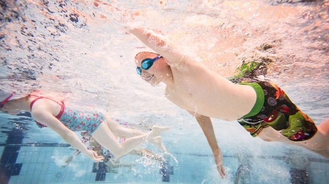 National Lottery thanked for funding schemes to help get nation swimming