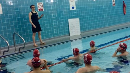 Coach Blog: Lucy Lloyd-Roach's fitness inspired pool workouts for February