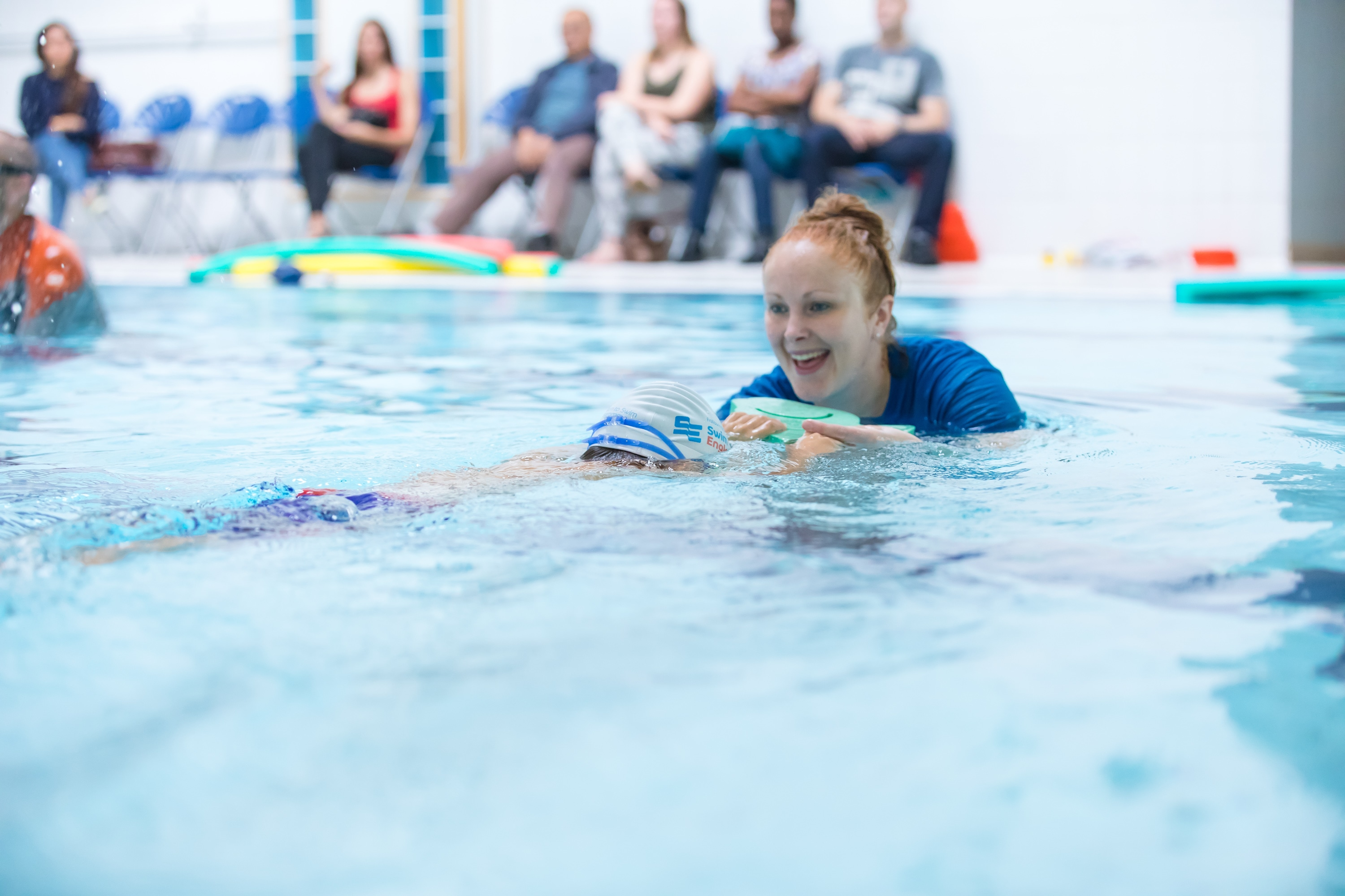 Visually Impaired Friendly Swimming